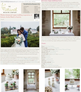 The natural wedding company